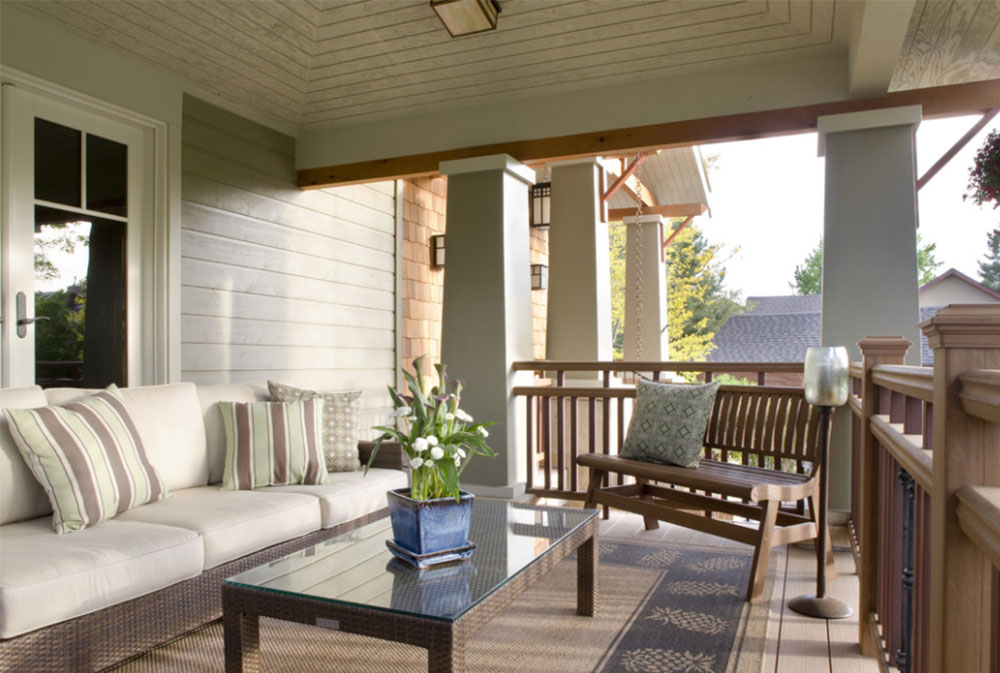 craftsman front porch by lawrence and gomez architects front - Porch Designs Ideas