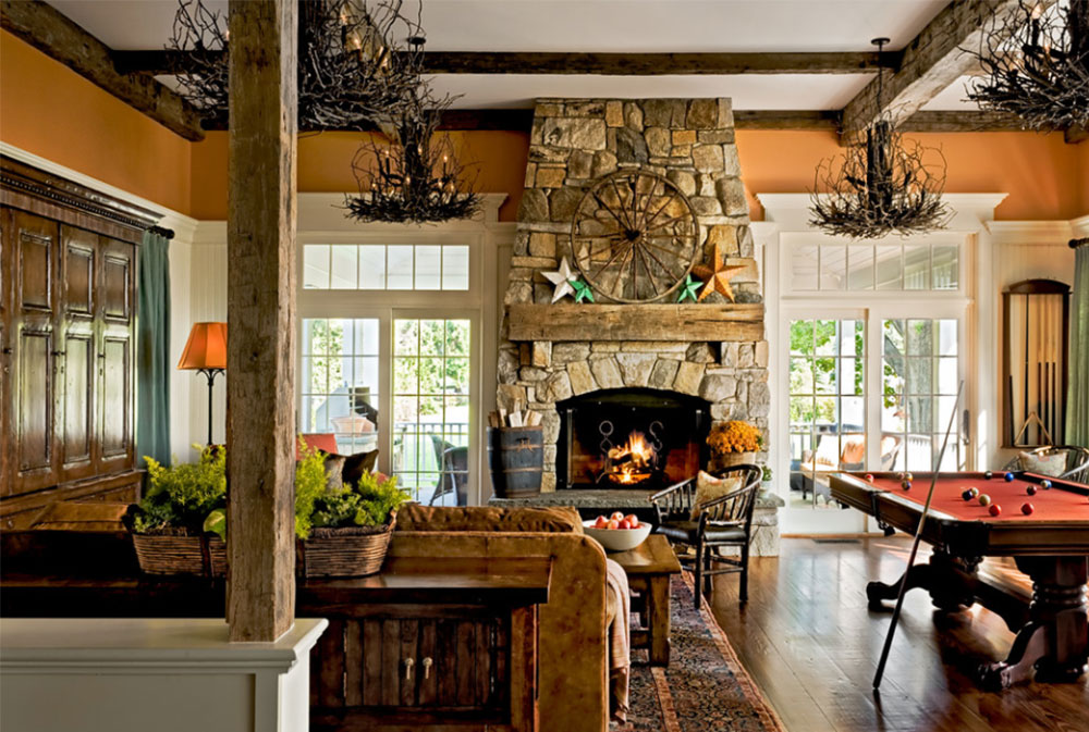 Crisp Architect Rustic Fireplaces Designs Tips And Ideas