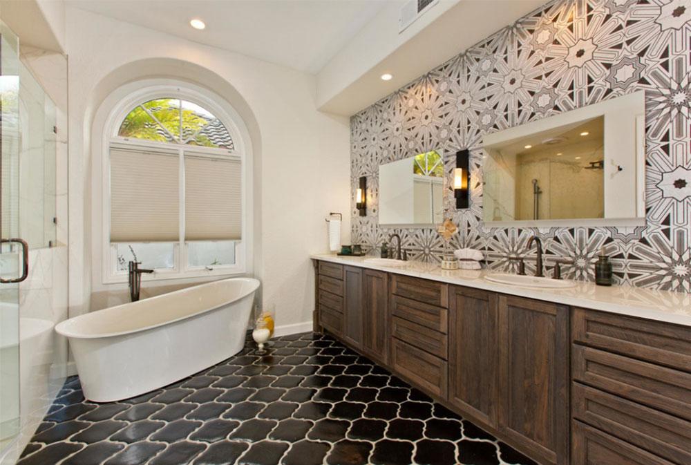 Dramatic-Style-Bathroom-by-Signature-Designs-Kitchen-Bath Art