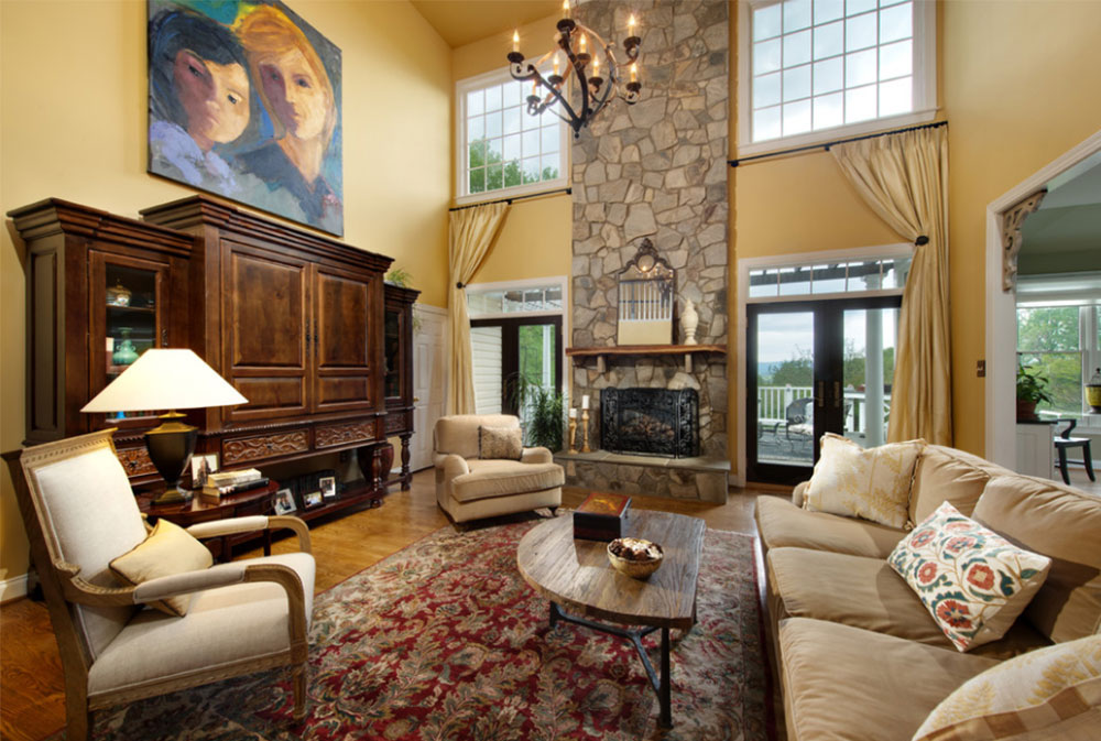 Great-Room-by-Liza-Jane-Interiors How To Decorate A Large