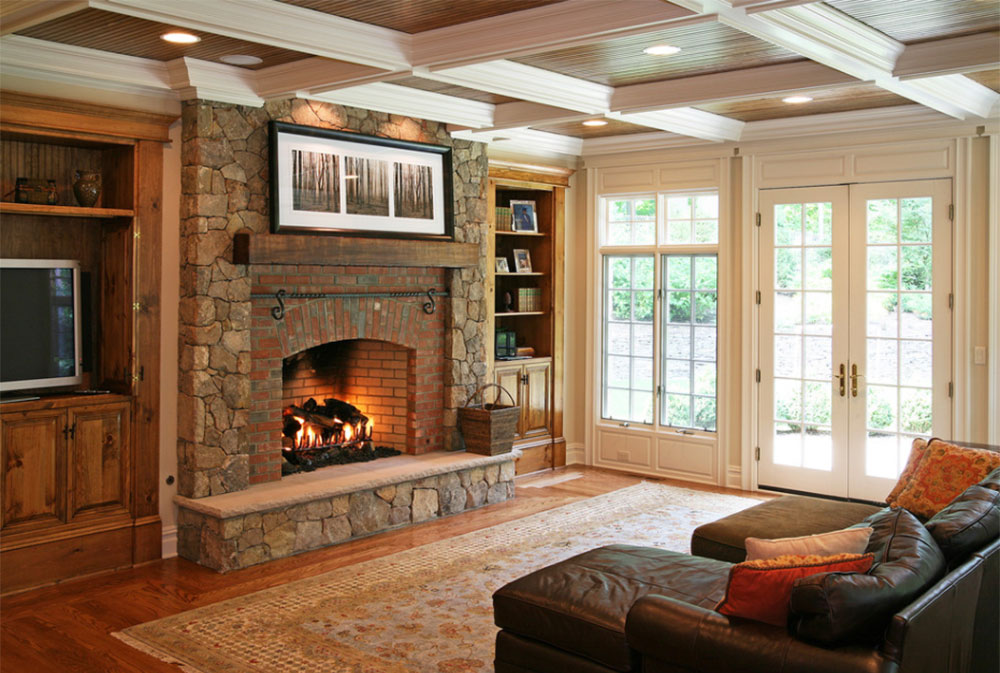 Rustic Fireplaces Designs Tips And Ideas