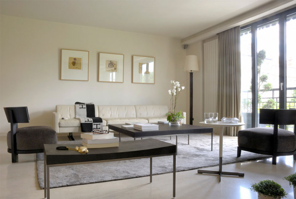 Mes Realisations By Modulis Vendome How To Decorate A Large Living Room