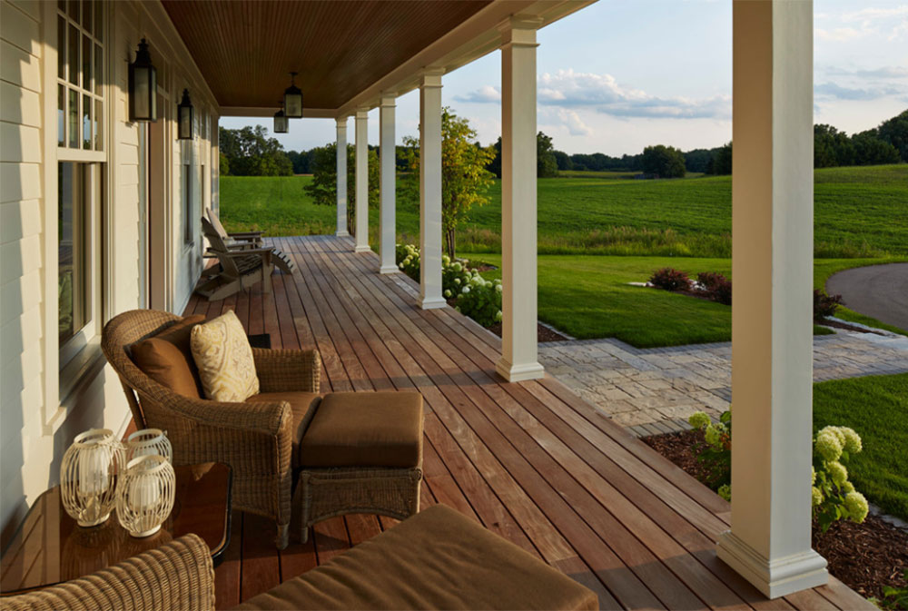Modern Farmhouse By Hendel Homes Front Porch Ideas Plans Furniture