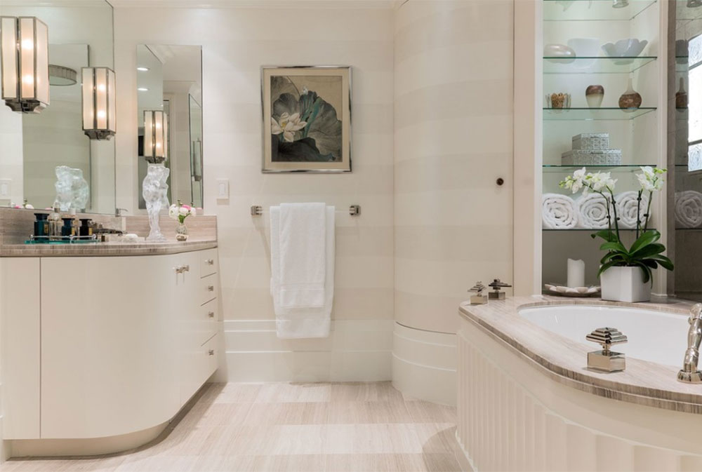 Newton By F D Hodge Interiors Art Deco Bathroom