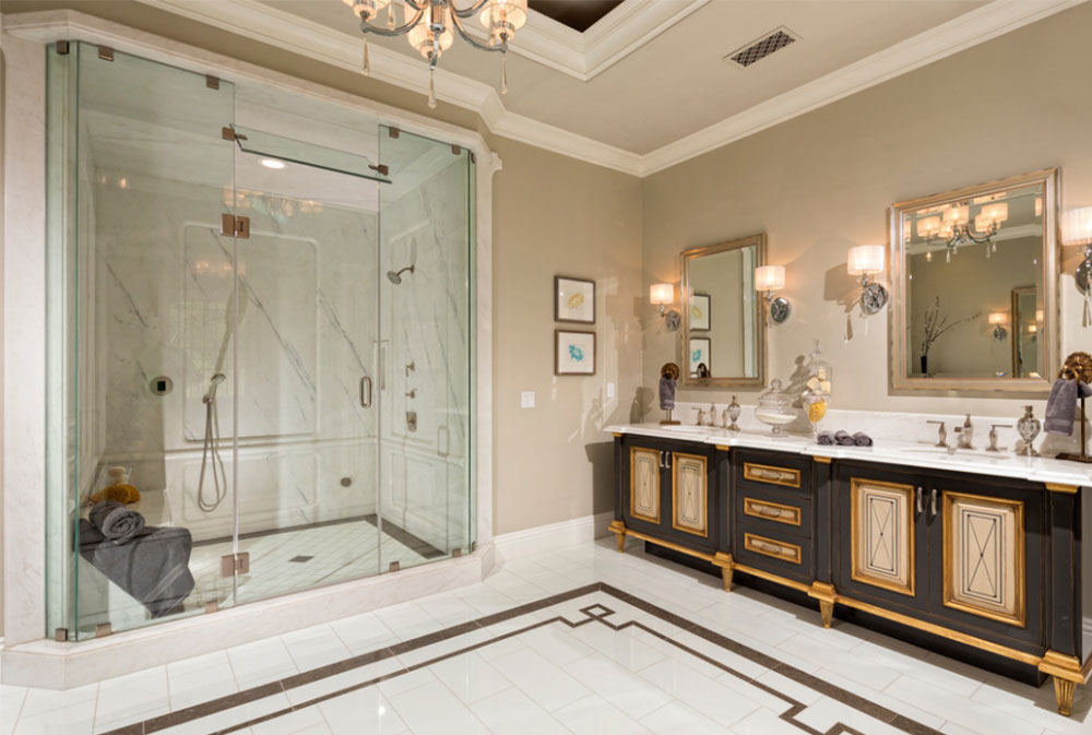 Art Deco Bathroom Interior Design