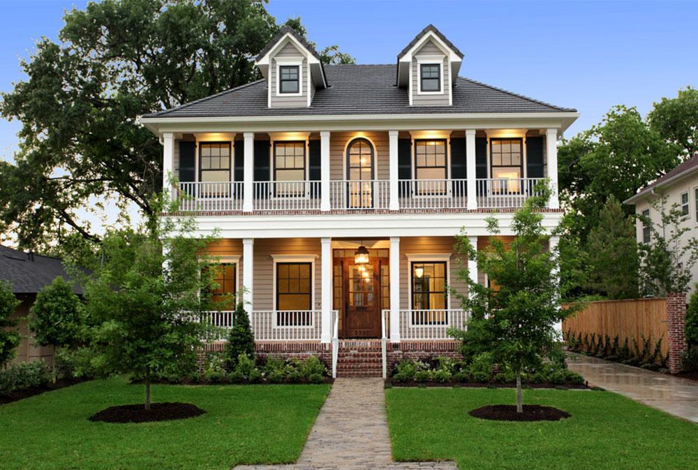 Southern Farmhouse Home Plan Impressive Home Interiors Designs