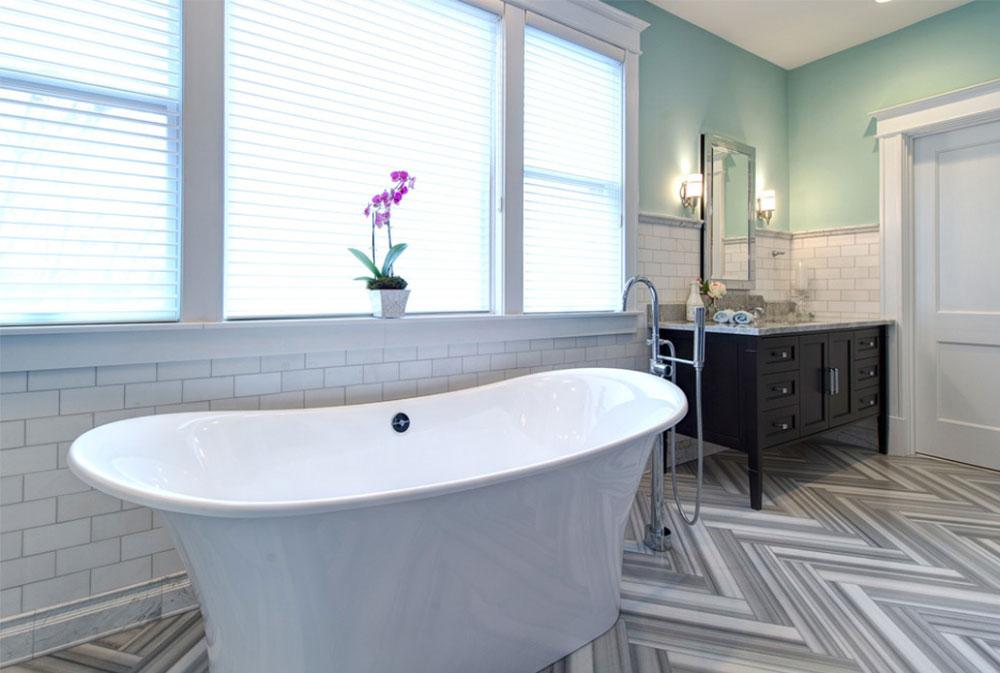University City By Joni Spear Interior Design Art Deco Bathroom
