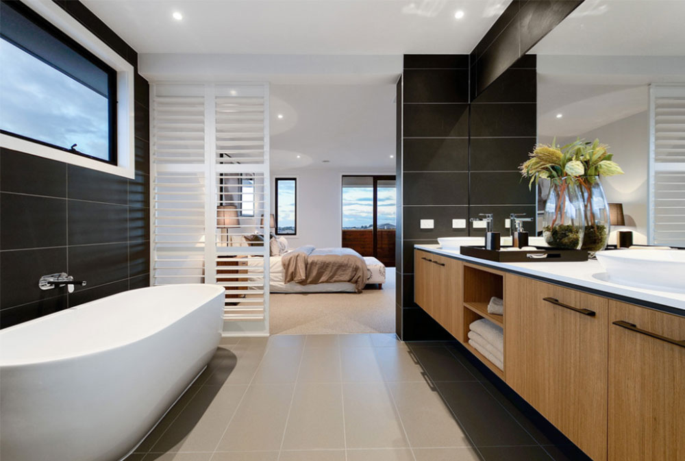 Aspen 38 Display Home By Sienna Homes Contemporary Bathroom Design