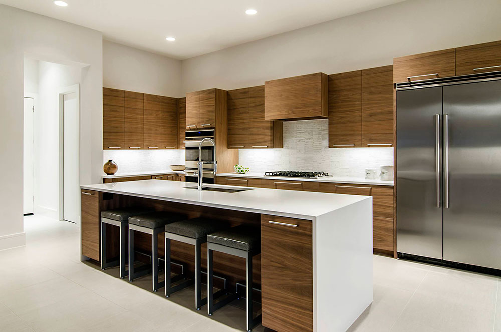 Minimalist And Practical Modern Kitchen Cabinets