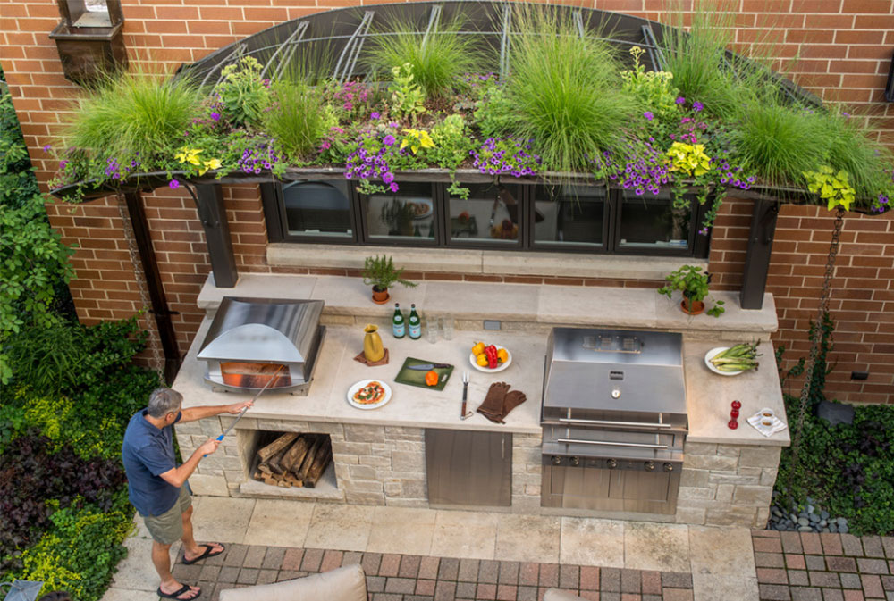 Chicago Outdoor Kitchen By Kalamazoo Outdoor Gourmet Summer Kitchen Design