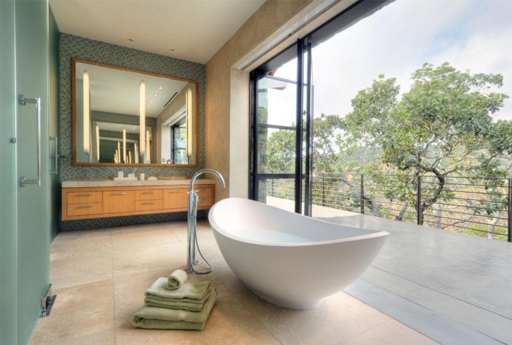 Fieldstone-House-by-De-Meza-Architecture Contemporary Bathroom Design Ideas