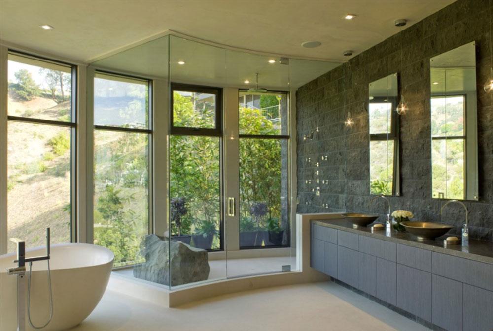 Hollywood-Hills-by-Lori-Dennis Contemporary Bathroom Design Ideas