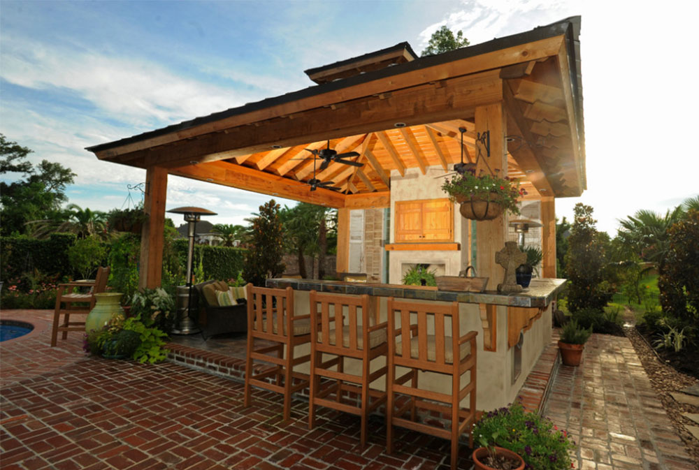 Lafayette LA Outdoor Kitchen By Backyard Builders Summer Kitchen Design