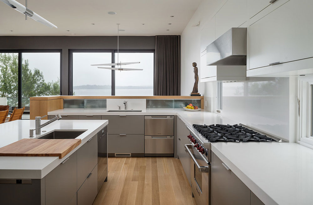 Madrona-Residence-CCS-ARCHITECTURE Minimalist And Practical Modern Kitchen Cabinets
