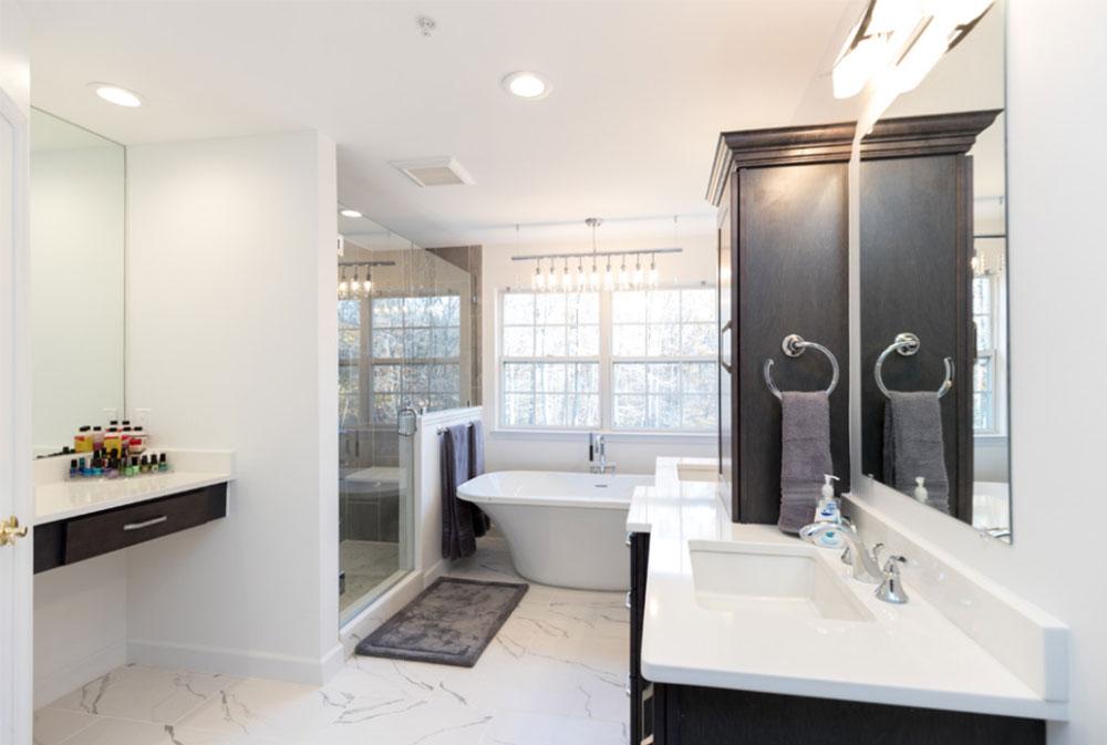 master bath retreat by nv kitchen and bath contemporary - Master Bath Design Ideas
