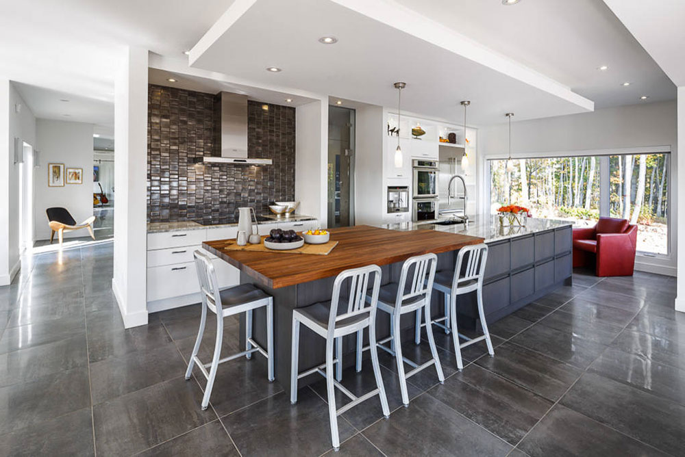 Ottawa Home In The Hills Modern Kitchen Bath