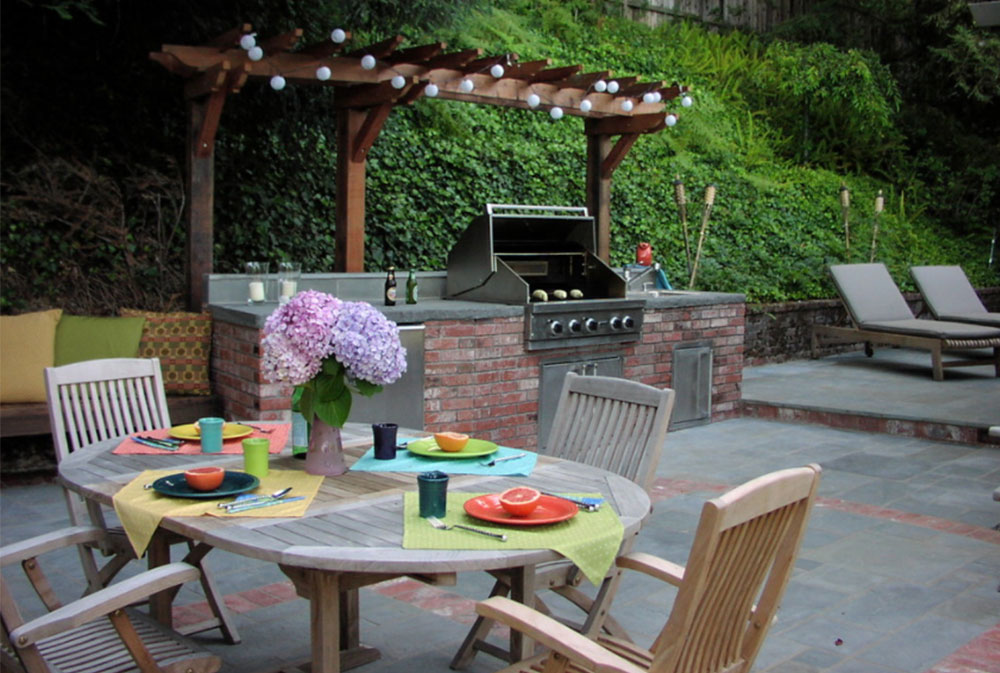 Outdoor Kitchens And Fireplaces By Derviss Design Summer Kitchen Design