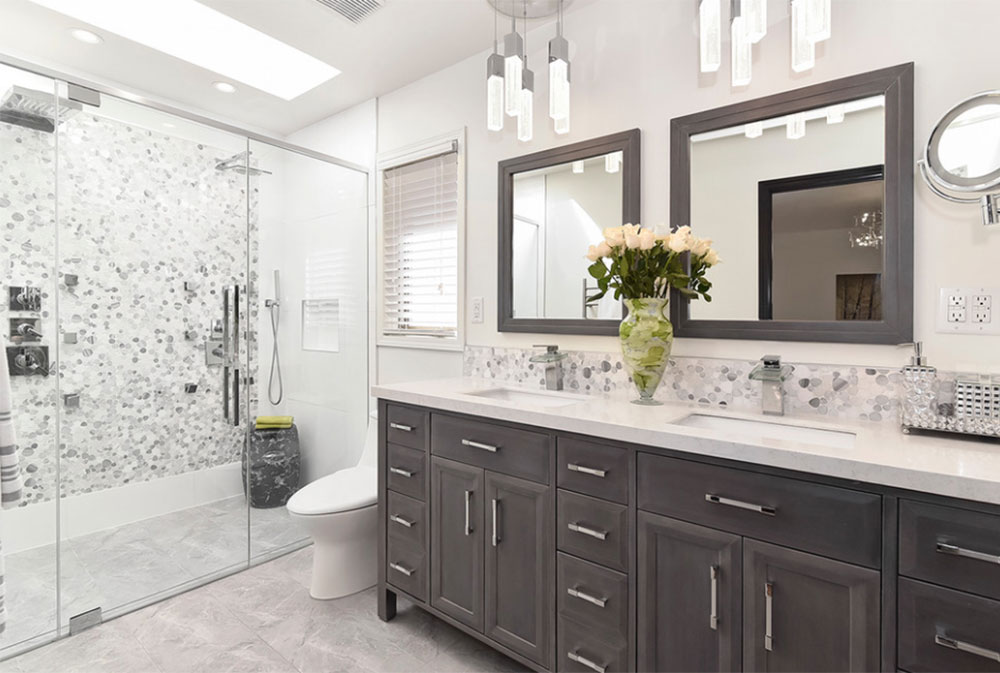 redesigned bathroom by designing first impressions contemporary bathroom design ideas
