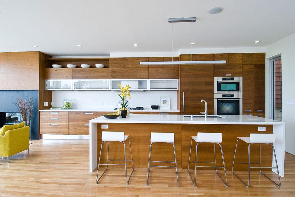 San-Francisco-Residence-Knocknock Minimalist And Practical Modern Kitchen Cabinets