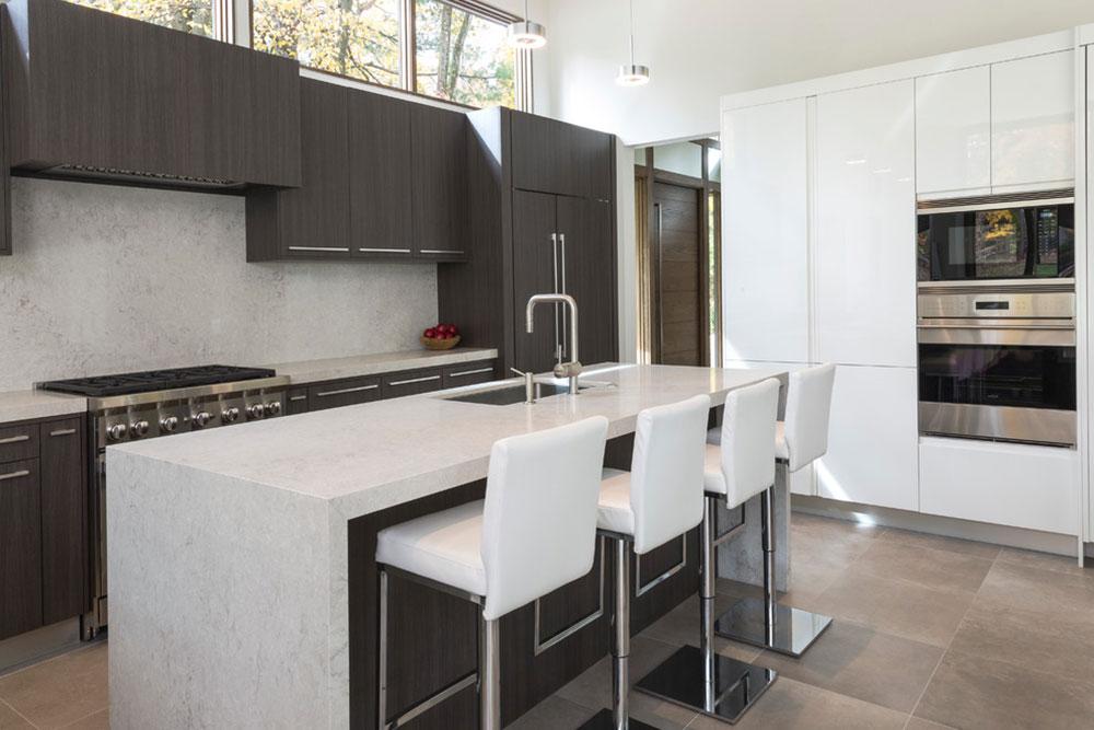 Short-Hills-Home-Porcelanosa Minimalist And Practical Modern Kitchen Cabinets
