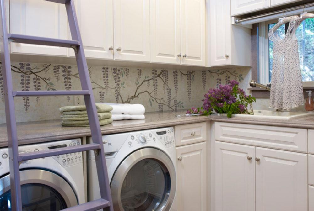 California Mediterranean Estate Laundry Room By Sarah Barnard