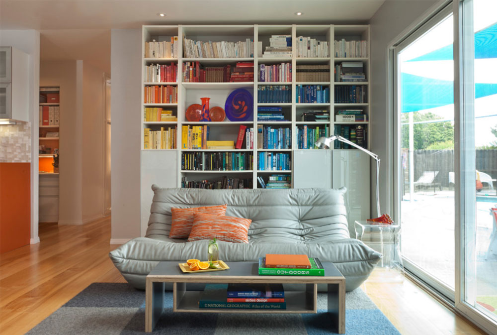 Colorful Mid Century Modern Residence By Kropat Interior