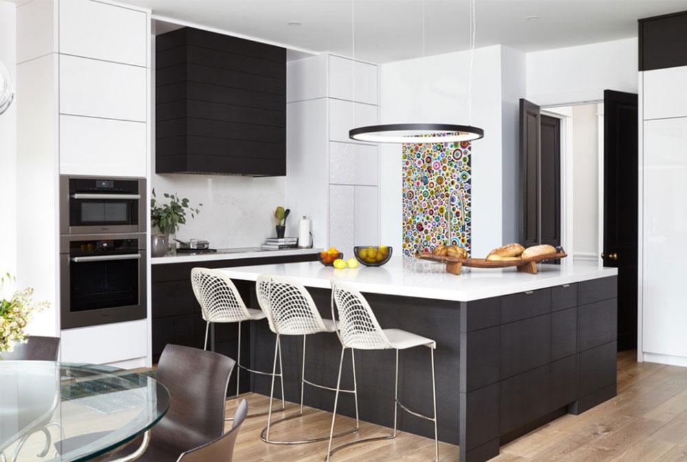 Glencairn By Lorraine Franklin Designs Inc Black And White Kitchen Design