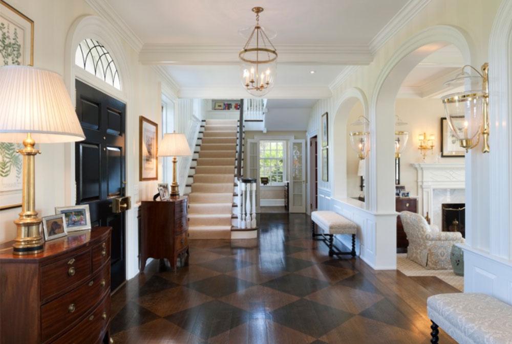 Painted Floors Design Ideas
