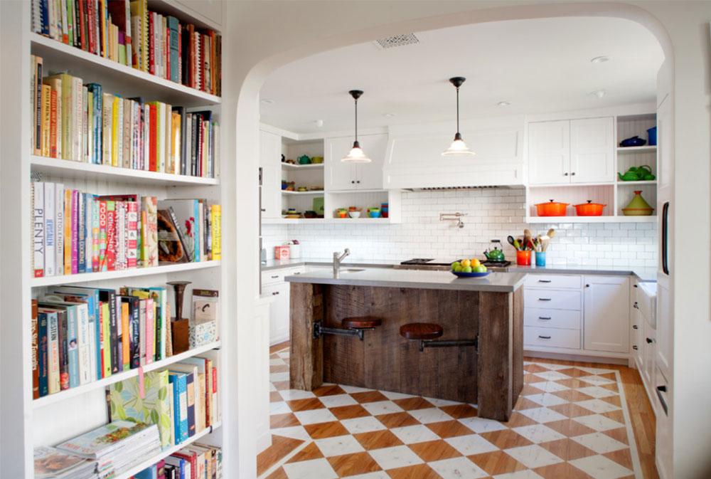 Westwood Residence By JWT Associates Painted Floors Design Ideas
