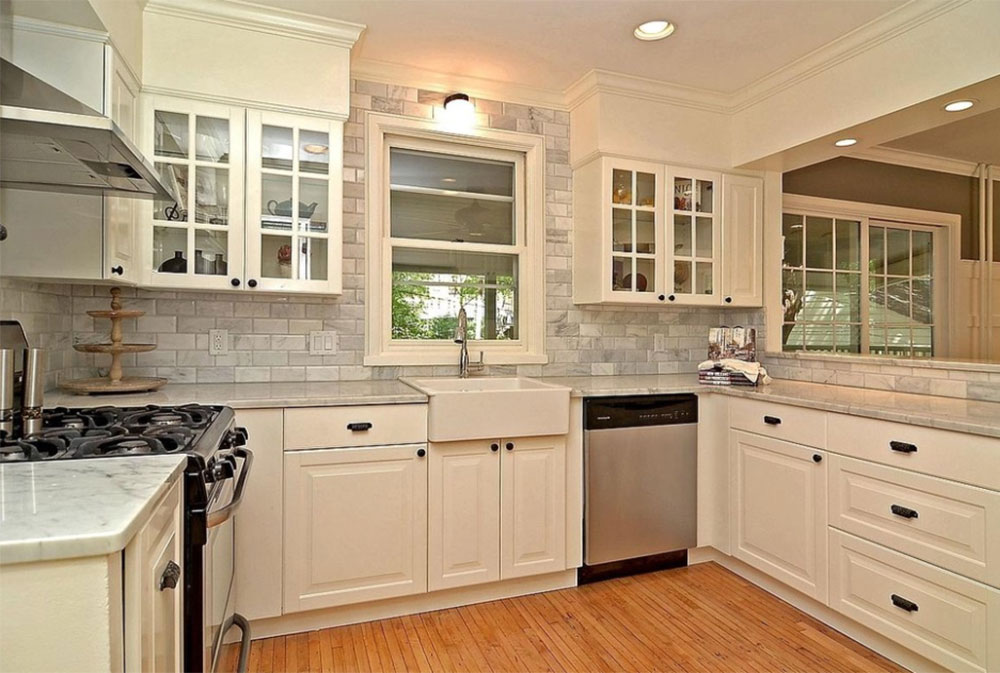 Carrara Marble Kitchen GreyGray And White By Design
