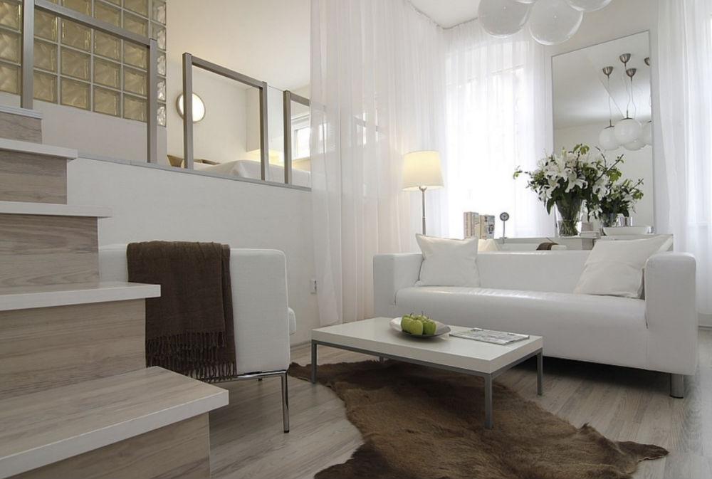 Contemporary Studio By ZL Design Studio Apartment Decor, Ideas, And