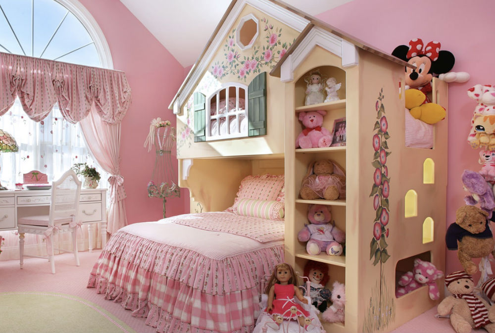 FAIRYTALE BEDROOM By Sheila Rich Interiors Stuffed Animal Storage Ideas