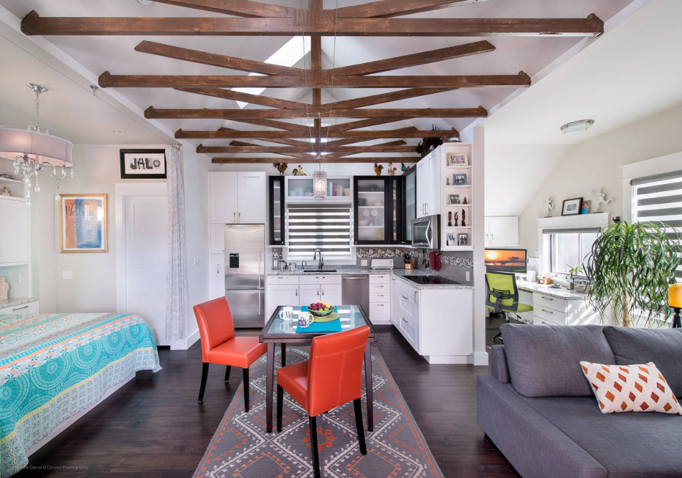 Prospect Carriage House By BARRETT STUDIO Architects Studio Apartment Decor