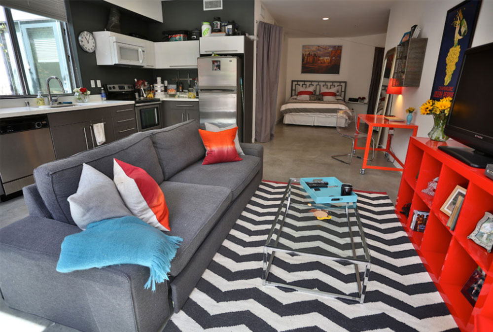 studio apartment decor ideas and what it is