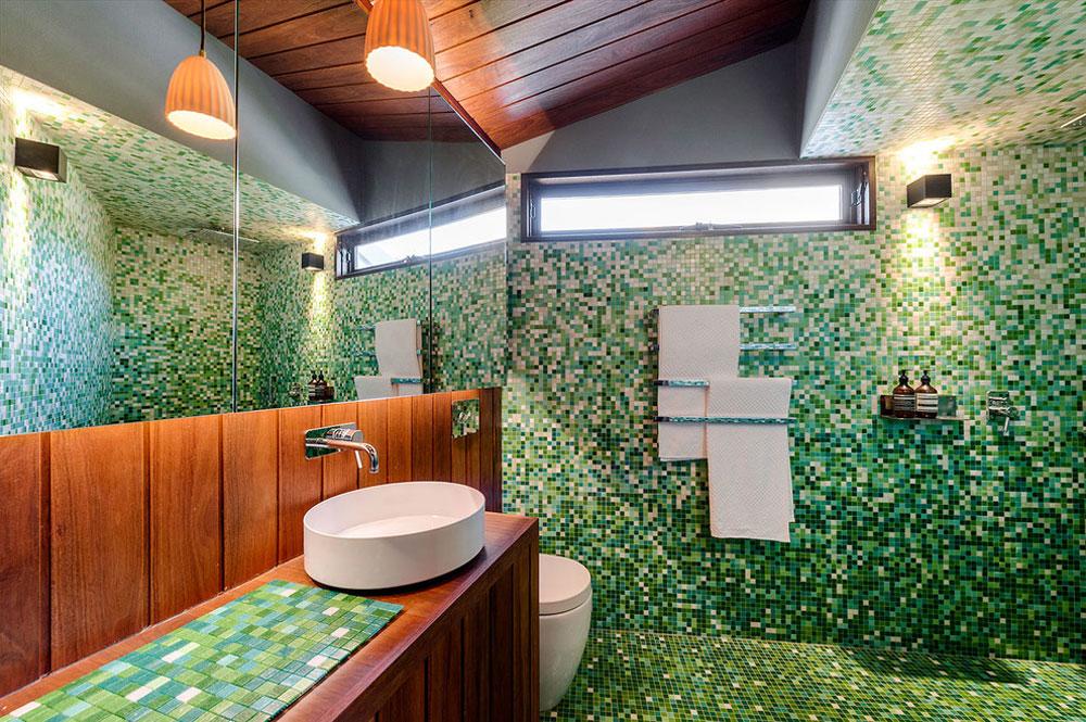 1850s Bluestone Cottage By Itsuka Studio Green Bathroom Ideas: Décor