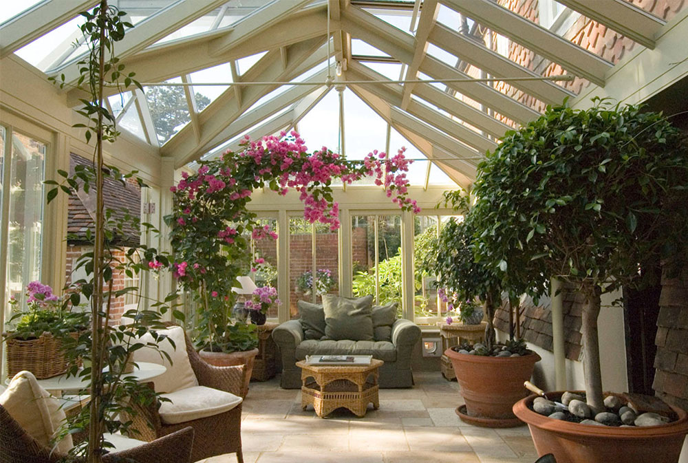 A Conservatory For Plants And People By Town