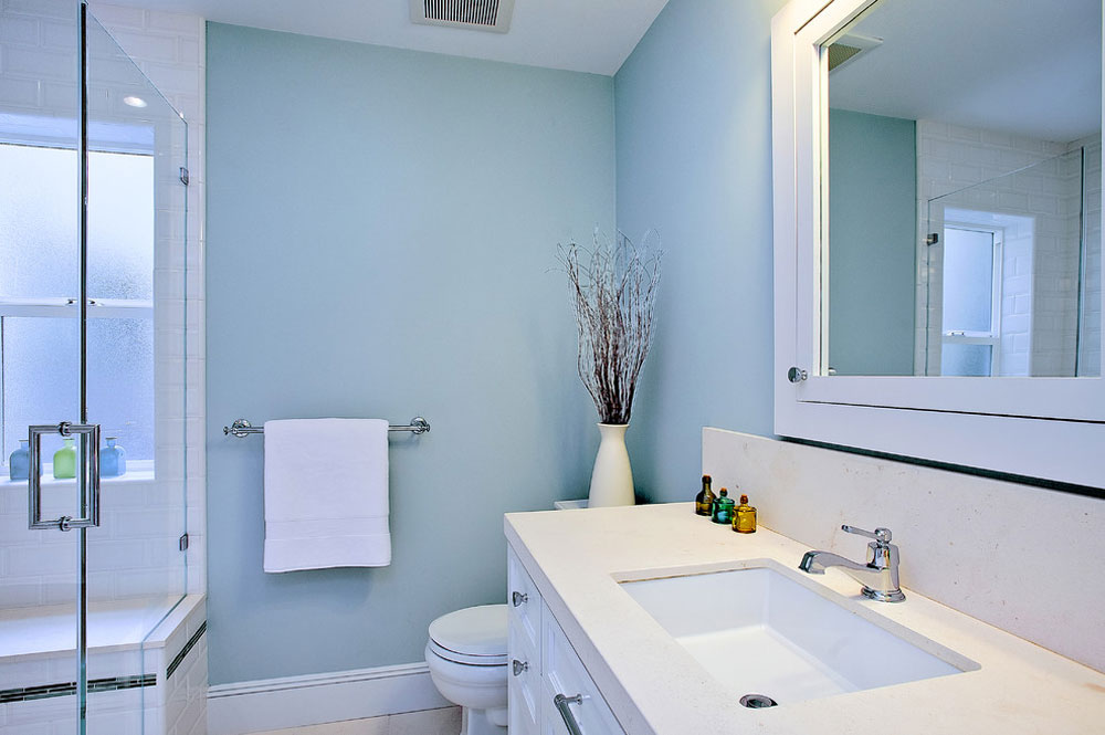 Beach Style Bathroom By Melissa Lenox Blue Ideas Design