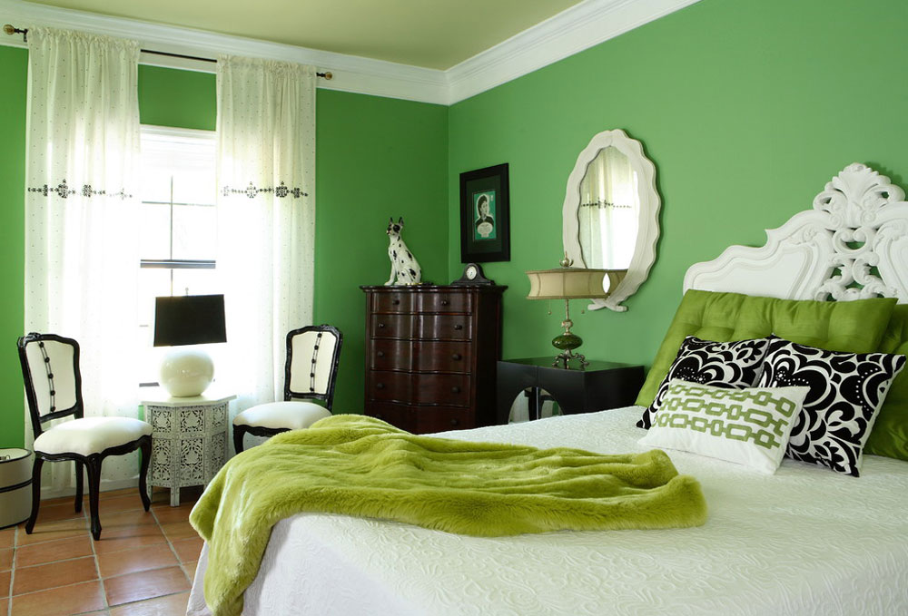 bedrooms by design theory interiors of california inc green - Green Bedroom Decoration