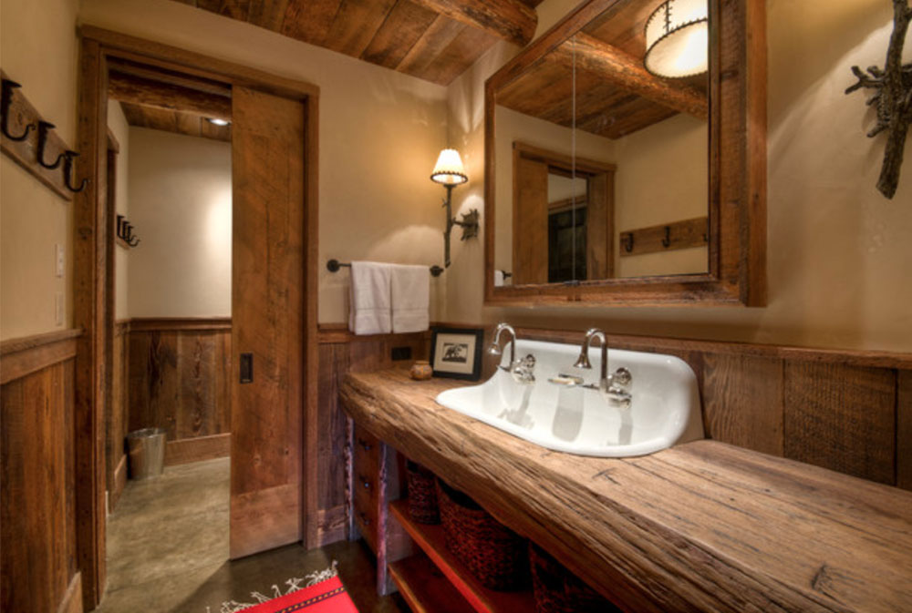 Big-Sky-Ansel-Haus-by-Laura-Fedro-Interiors-Inc- Wood Countertops: Solid, Rustic, Natural Kitchen Counters
