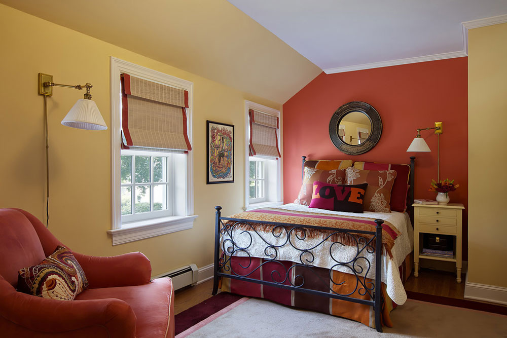 Bohemian Chic By B Fein Interiors LLC Yellow Bedroom Design