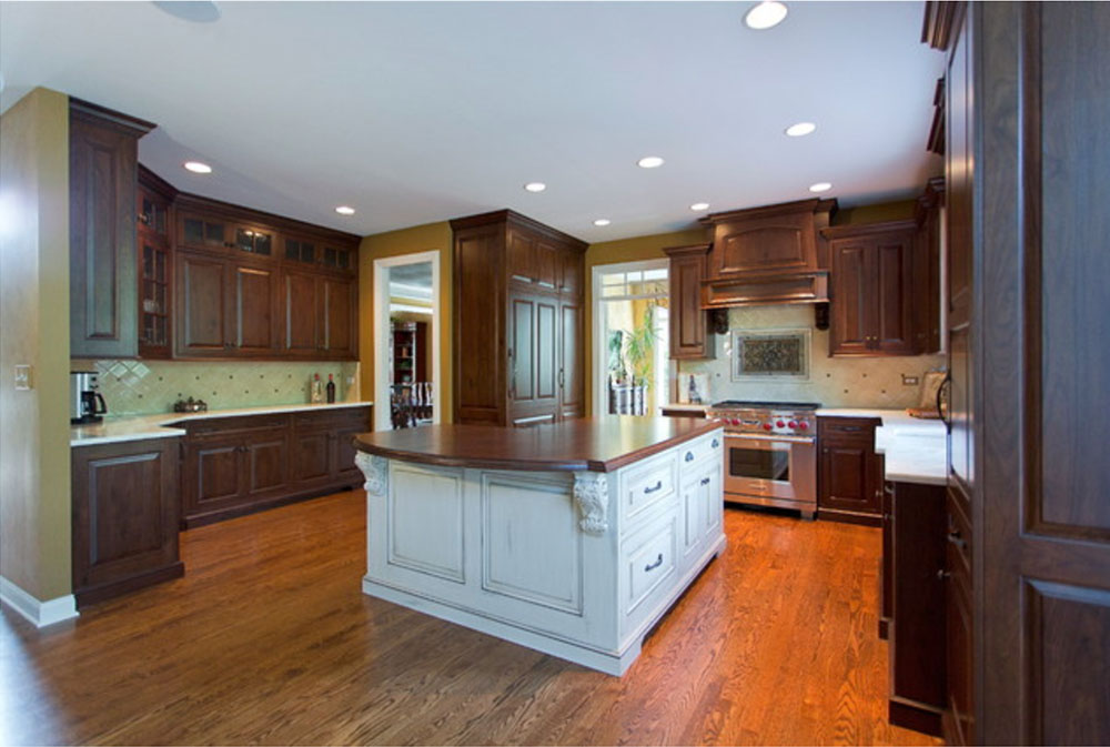 Chapman-Court-Project-by-Vedco-Design-Group- Wood Countertops: Solid, Rustic, Natural Kitchen Counters