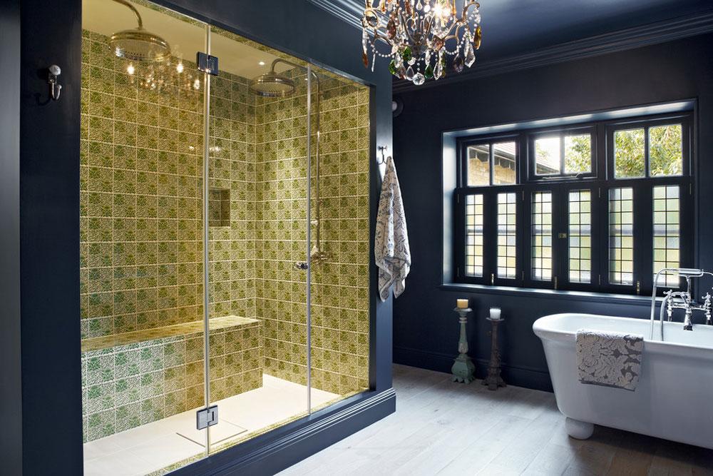Contemporary Bathroom By Godrich Blue Bathroom Ideas: Design, Décor, And