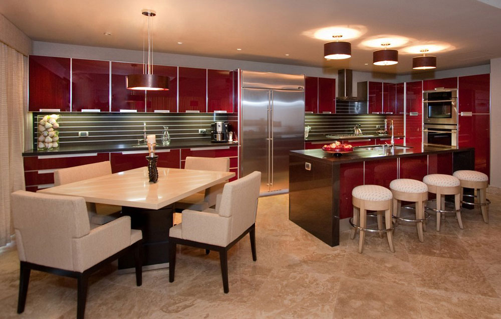 Red Kitchen Design Ideas Walls And Decor