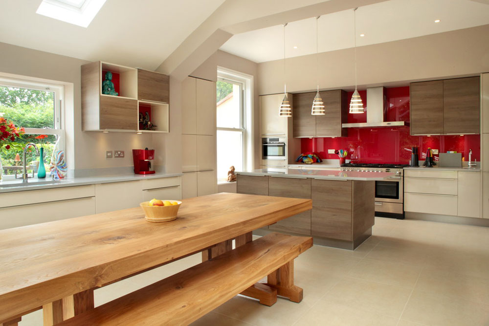 Contemporary Kitchen By Design A E Red Ideas