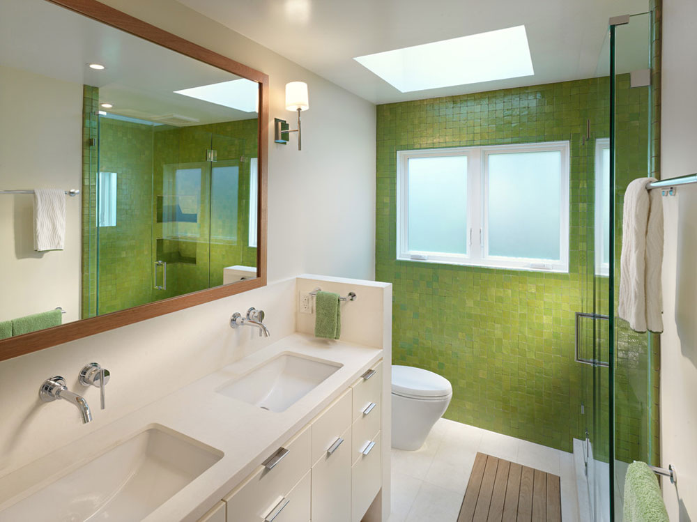 Cove Road Residence By Ross 1 Green Bathroom Ideas: Décor