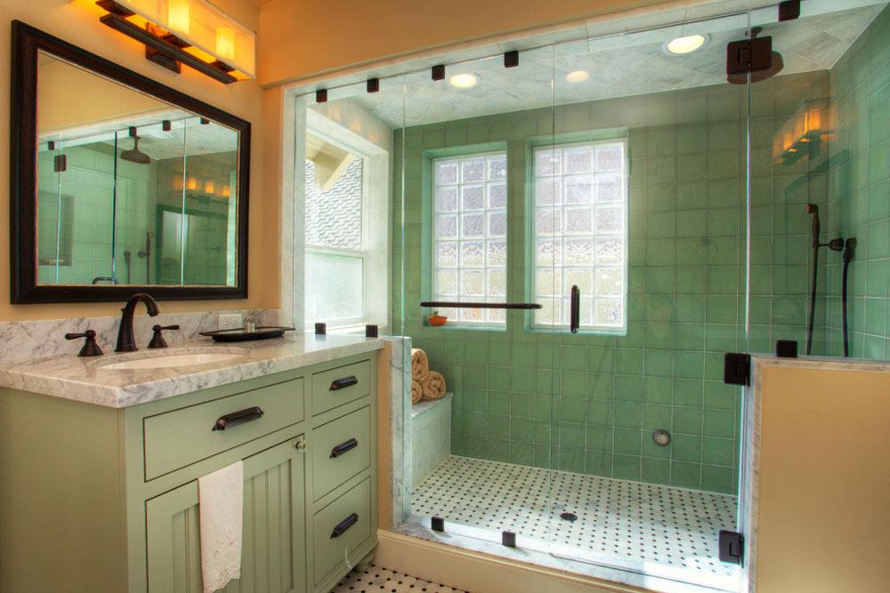 Green Bathroom Ideas: Décor, Lighting, And Accessories