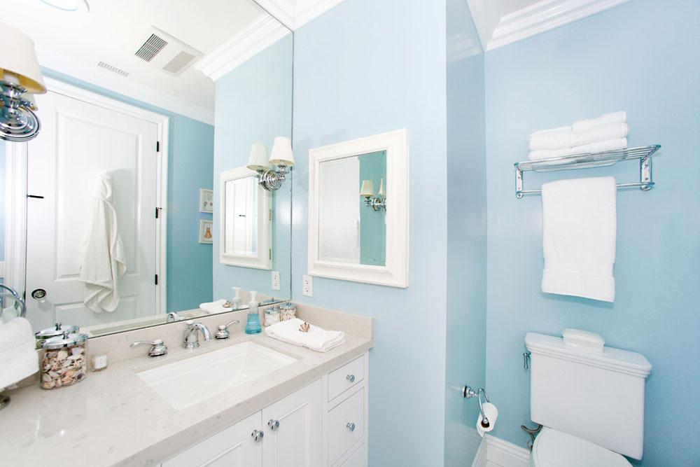 Home Architec Ideas Bathroom Design Blue
