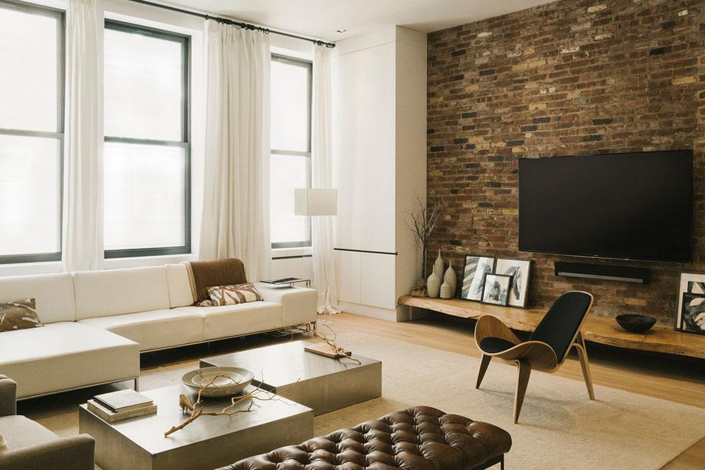 Greenwich-Village-Loft-by-Raad-Studio Mid-Century Modern Furniture: Design, Décor, And Ideas