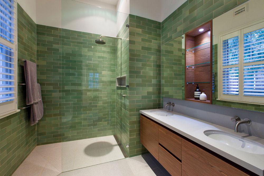 Hamersley-Road-by-Studio-53-1 Green Bathroom Ideas: Dcor