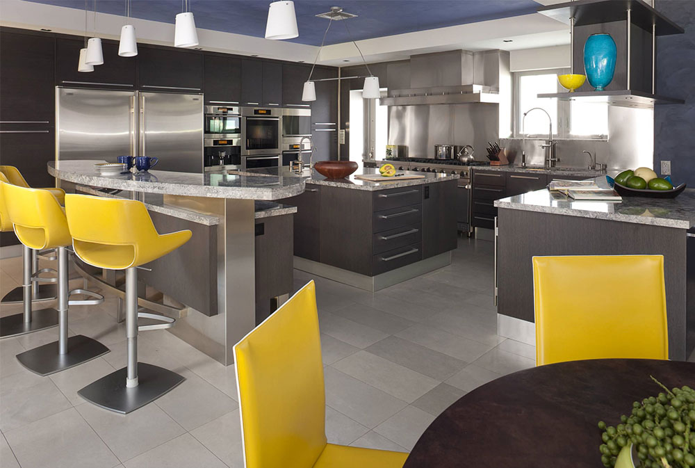 Home-2-by-Architectural-Design-Consultants Yellow Kitchen: Décor Rugs